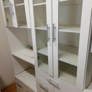【豊中市】食器棚、家電、セミダブルマットレスの回収・処分ご依頼