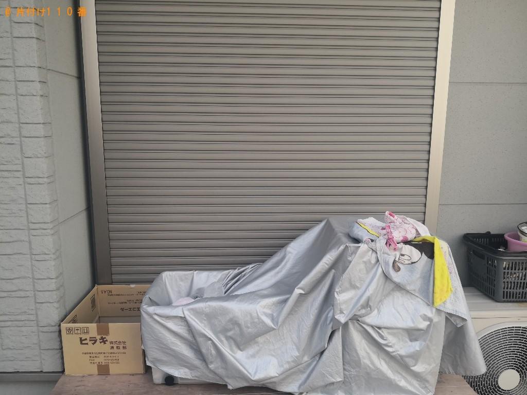 【八尾市東本町】シングルベッドマットレスの回収・処分ご依頼