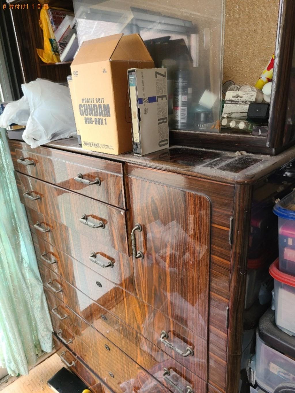 【大阪市福島区】本棚、衣装ケース、タンス等の回収・処分ご依頼