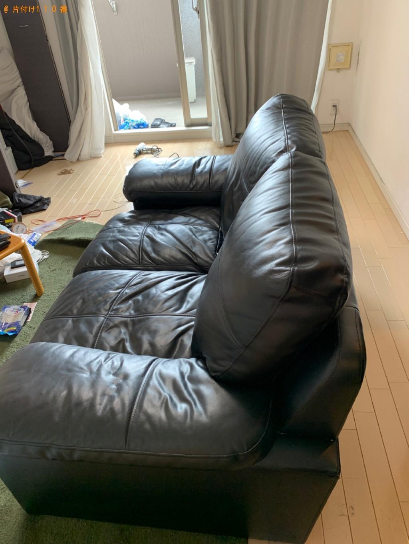 【大阪市東淀川区】ベッド、ソファーの回収・処分ご依頼 お客様の声