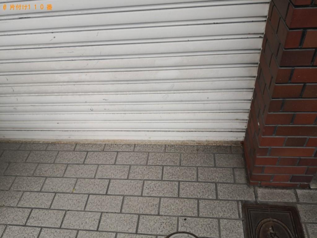 【大阪市港区】折り畳みベッドの回収・処分ご依頼 お客様の声