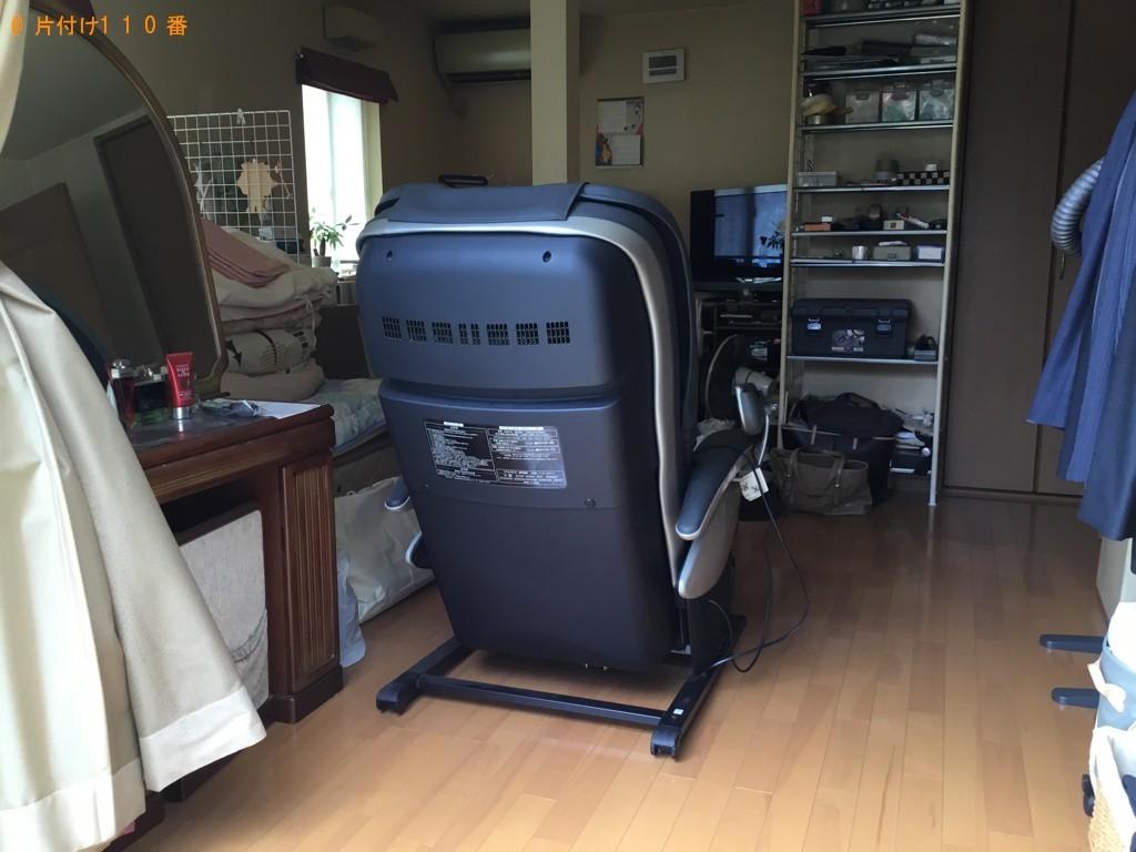 【大阪市此花区】マッサージチェアの回収・処分ご依頼
