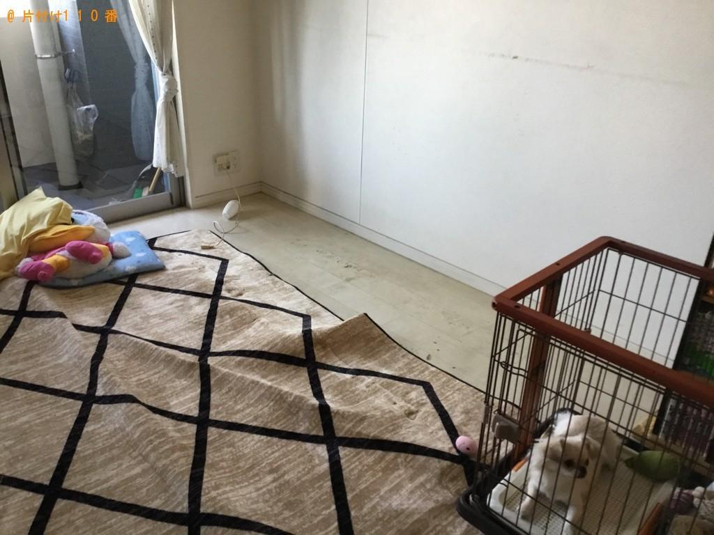 【大阪市中央区】三人掛けソファーの回収・処分ご依頼 お客様の声