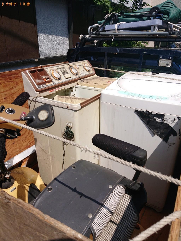 【能勢町】遺品整理に伴い洗濯機等の回収・処分ご依頼 お客様の声