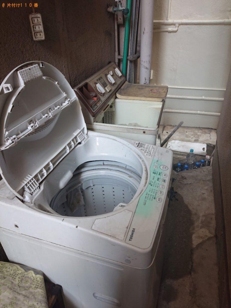 洗濯機等の回収・処分ご依頼 お客様の声