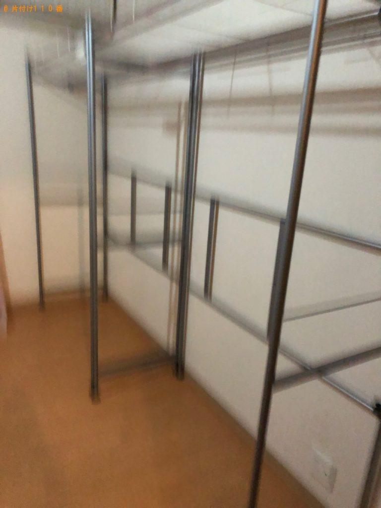 冷蔵庫、本棚、ラック等の回収・処分ご依頼 お客様の声