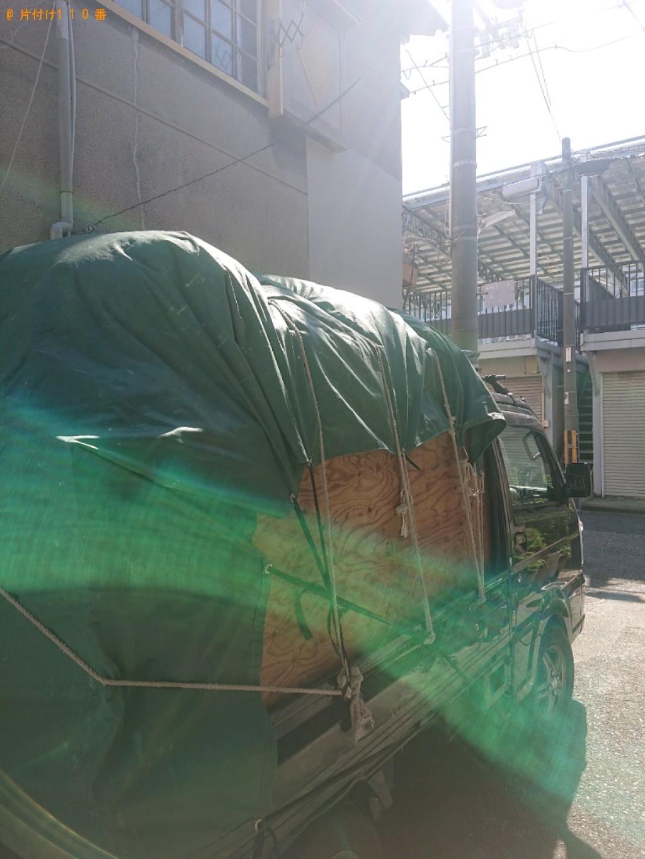 【堺市堺区】冷蔵庫、扇風機、食器棚、炊飯器等の回収・処分ご依頼