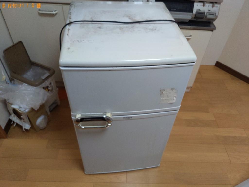 【門真市】冷蔵庫の回収・処分ご依頼 お客様の声