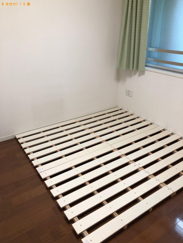 【豊中市新千里東町】シングルベッドの回収・処分ご依頼 お客様の声