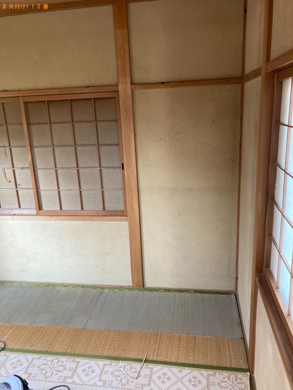 【堺市美原区】タンス、テレビ台、食器棚等の回収・処分ご依頼