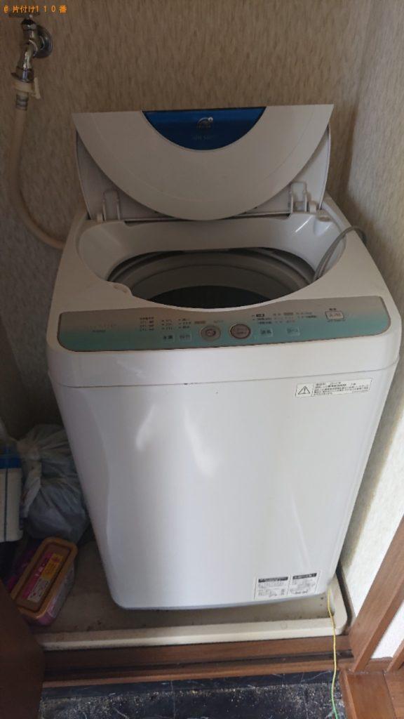 洗濯機、二人掛けソファー等の回収・処分ご依頼