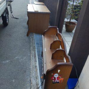 【吹田市】学習机の回収・処分ご依頼 お客様の声