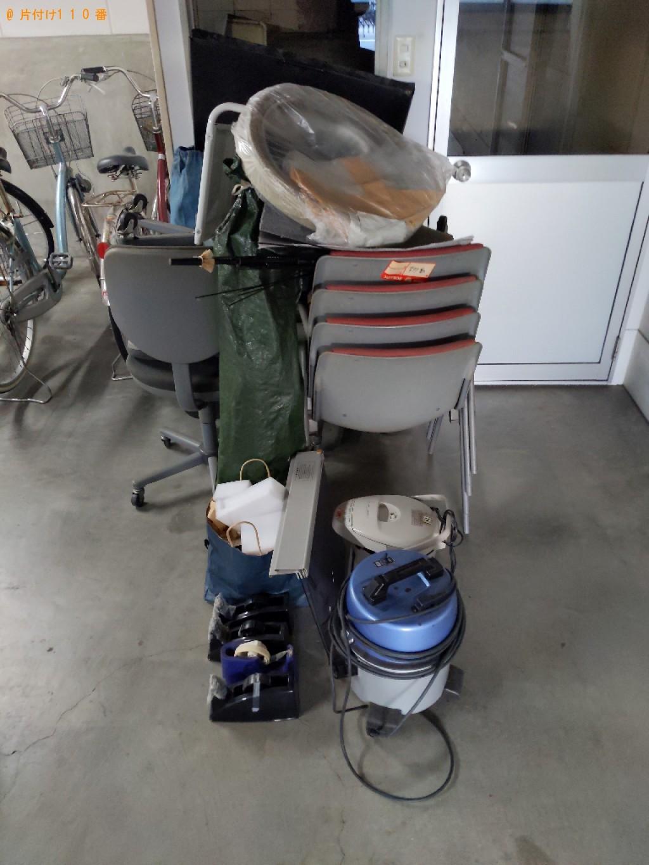 【大阪市北区】椅子、ポット、セロハンテープ、キーボード等の回収