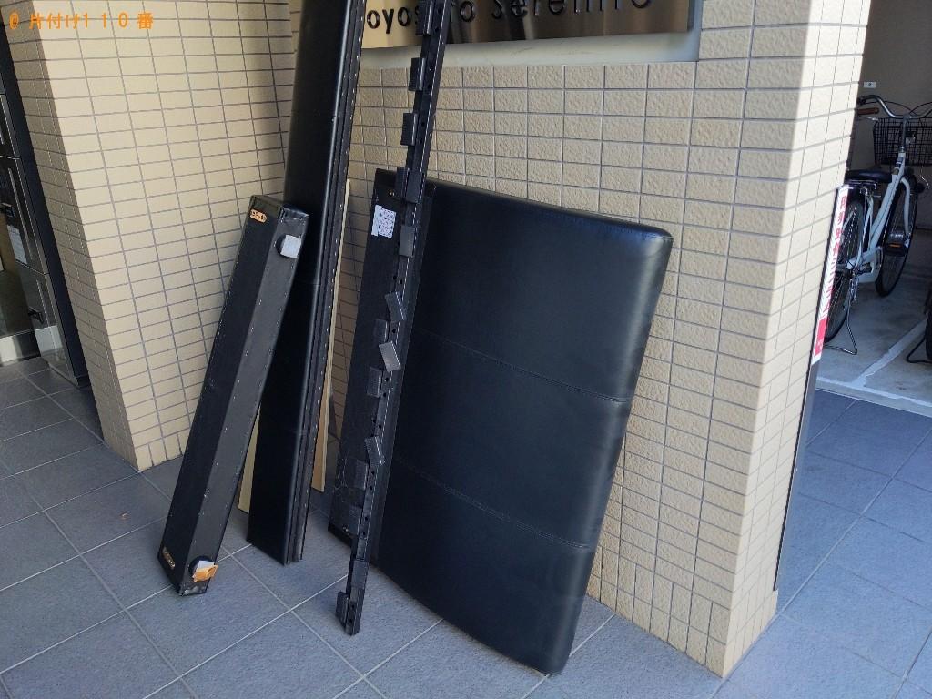 【大阪市東淀川区】シングルベッドの回収・処分ご依頼