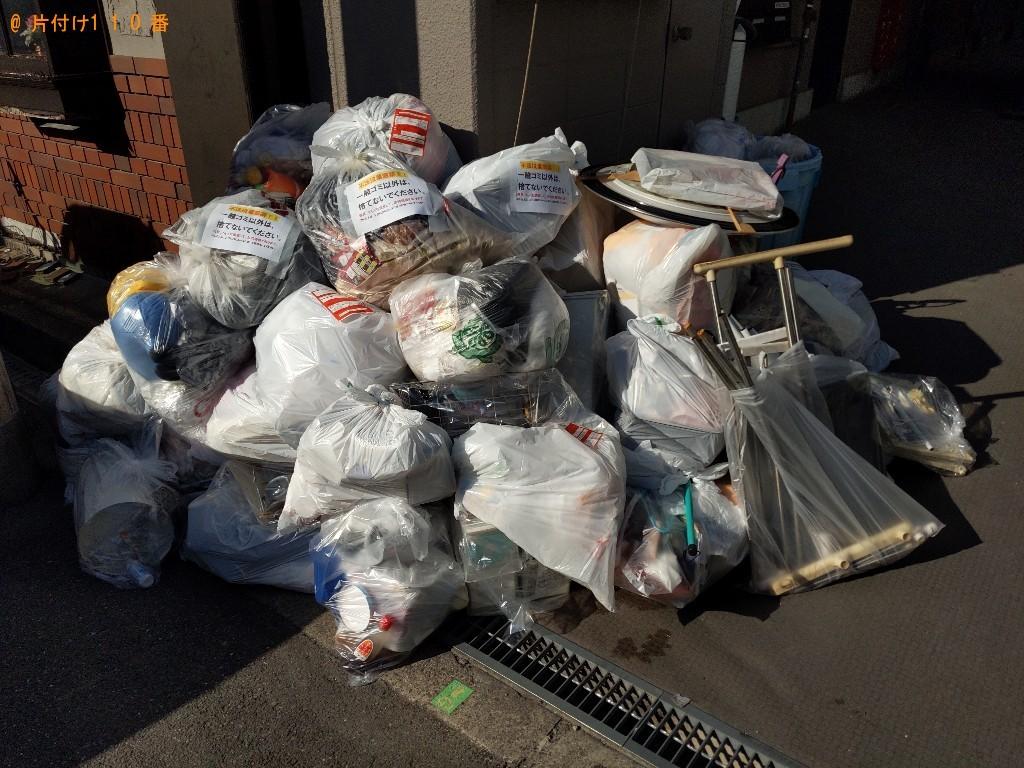 【大阪市城東区】大量の一般ごみの回収・処分ご依頼 お客様の声