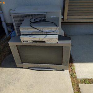 【大阪市平野区】テレビ、レコーダーの回収・処分ご依頼 お客様の声