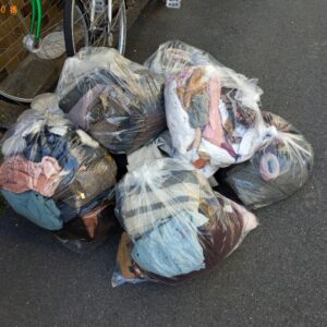 【大阪市都島区】衣類の回収・処分ご依頼 お客さまの声
