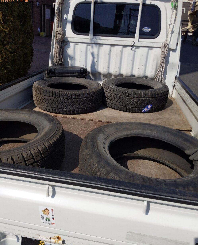 【堺市堺区】自動車タイヤの回収・処分ご依頼 お客様の声