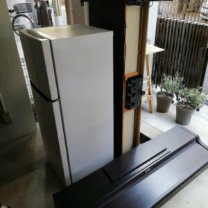 【寝屋川市香里北之町】冷蔵庫、電子ピアノの回収・処分ご依頼