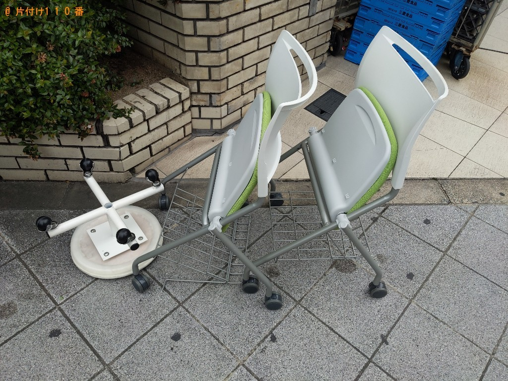 【大阪市北区】椅子の回収・処分ご依頼 お客様の声