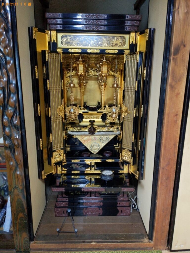 仏壇の回収・処分ご依頼 お客様の声