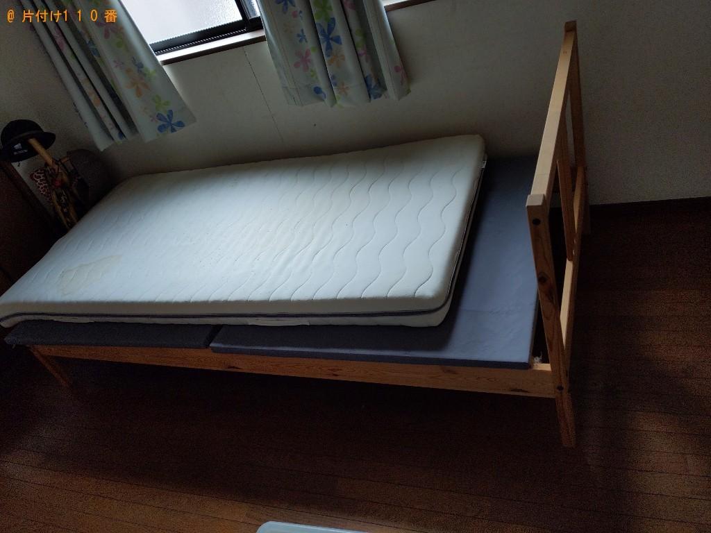 【大阪市住吉区】ロフトベッド、マットレス付きベッド等の回収・処分