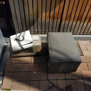 【東大阪市】電子レンジ、トースター、本棚等の回収・処分ご依頼