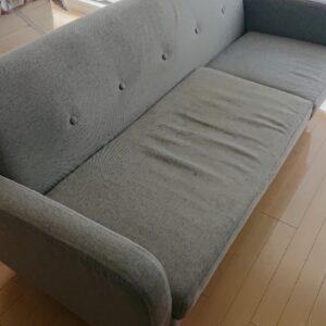 【堺市堺区】三人掛けソファーの回収・処分ご依頼 お客様の声