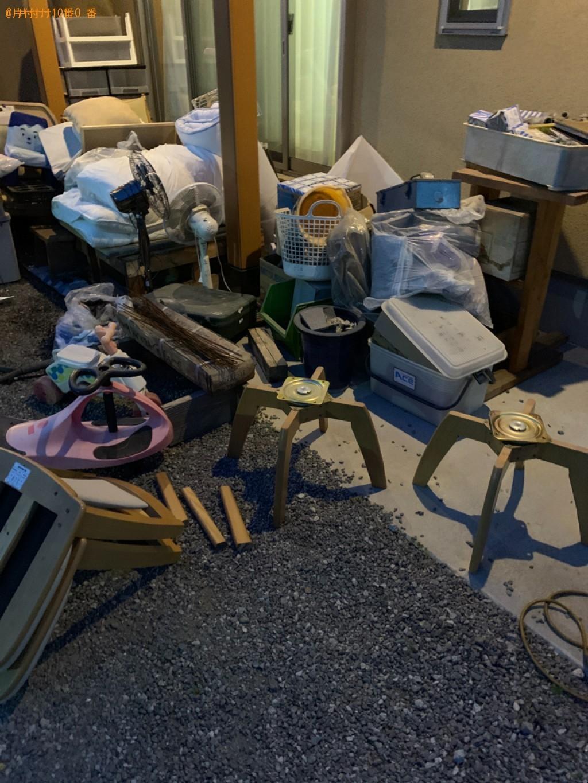 【堺市中区】椅子、扇風機、かご、布団、木の製品等の回収・処分