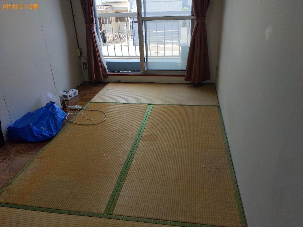 【堺市中区】冷蔵庫、二人用ダイニングテーブル、ラック等の回収