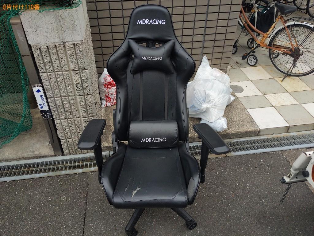 【守口市】椅子の回収・処分ご依頼 お客様の声