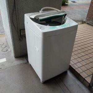 【大阪市福島区】洗濯機の回収・処分ご依頼 お客様の声