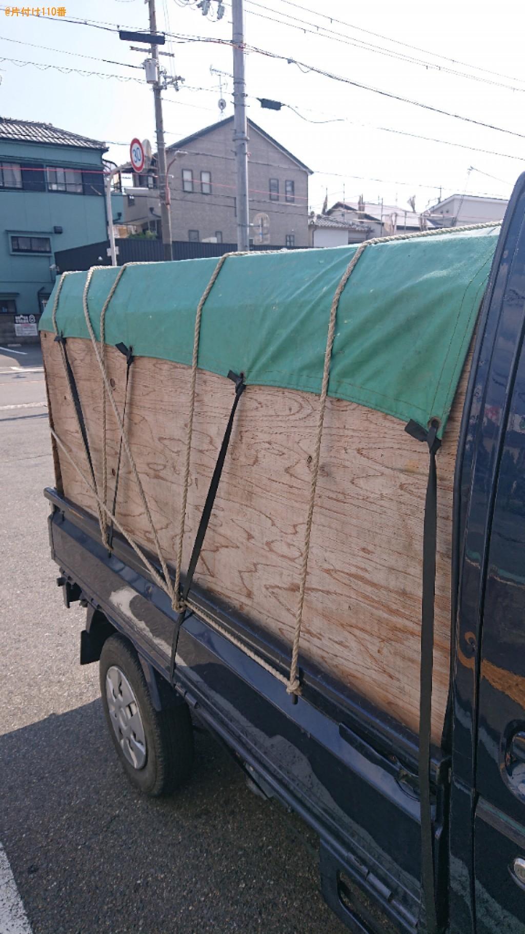 【高槻市栄町】椅子、プラスチックケース、小型家電等の回収・処分