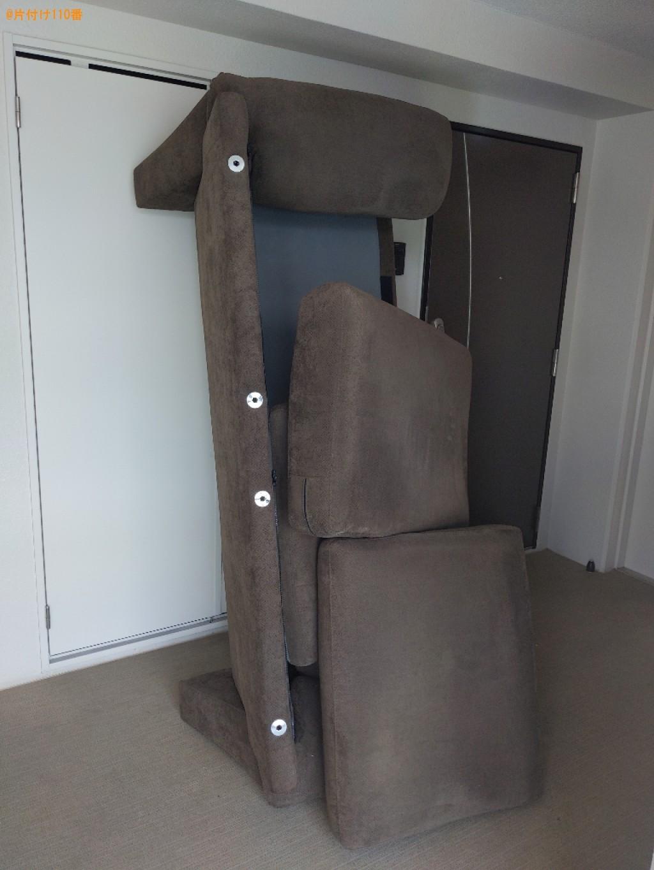 【大阪市西区】二人掛けソファーの回収・処分ご依頼 お客様の声