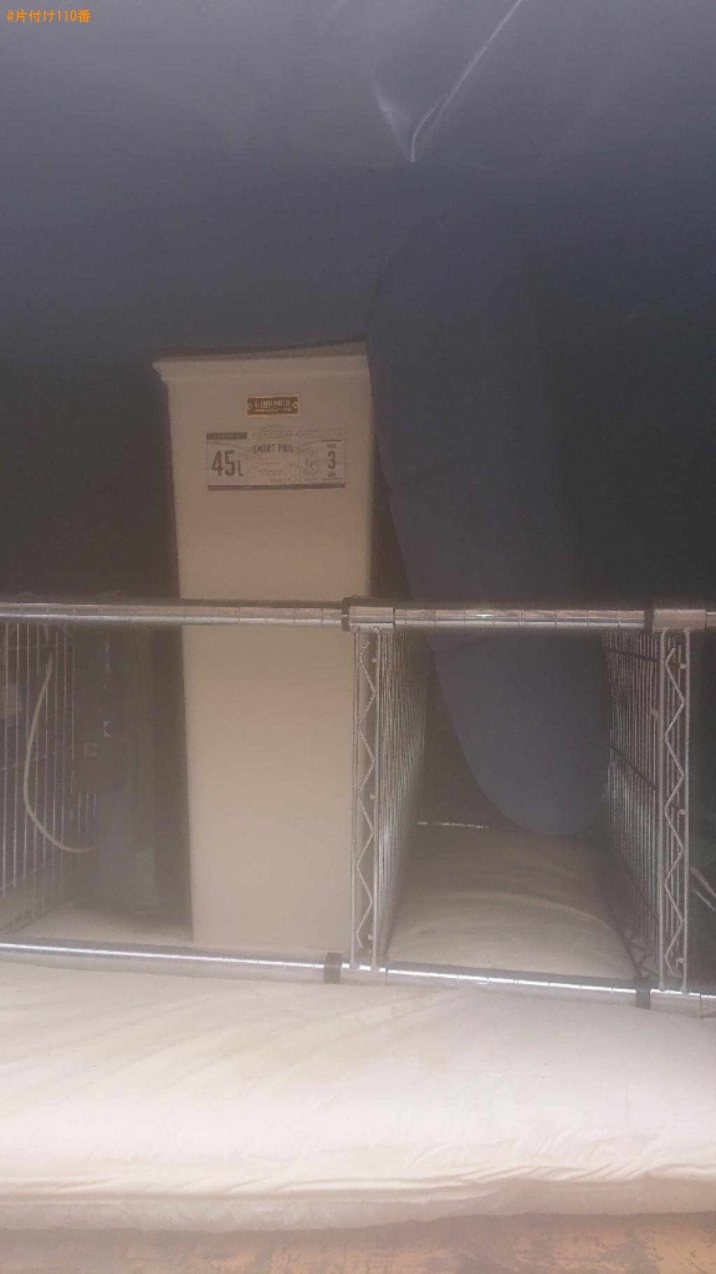 【豊中市東寺内町】テレビ、PCデスク、布団、メタルラック等の回収